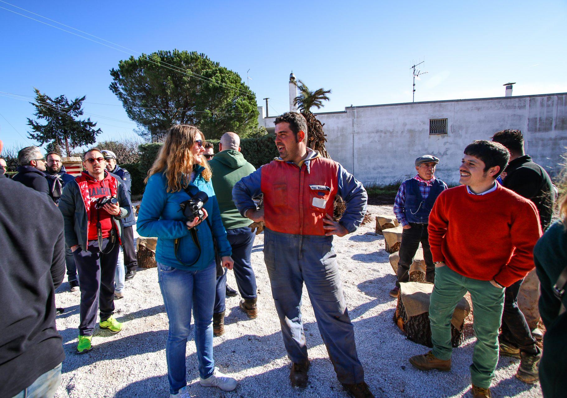 Праздник костров в Кастеллана Гротте - Festa delle fanove Castellana Grotte