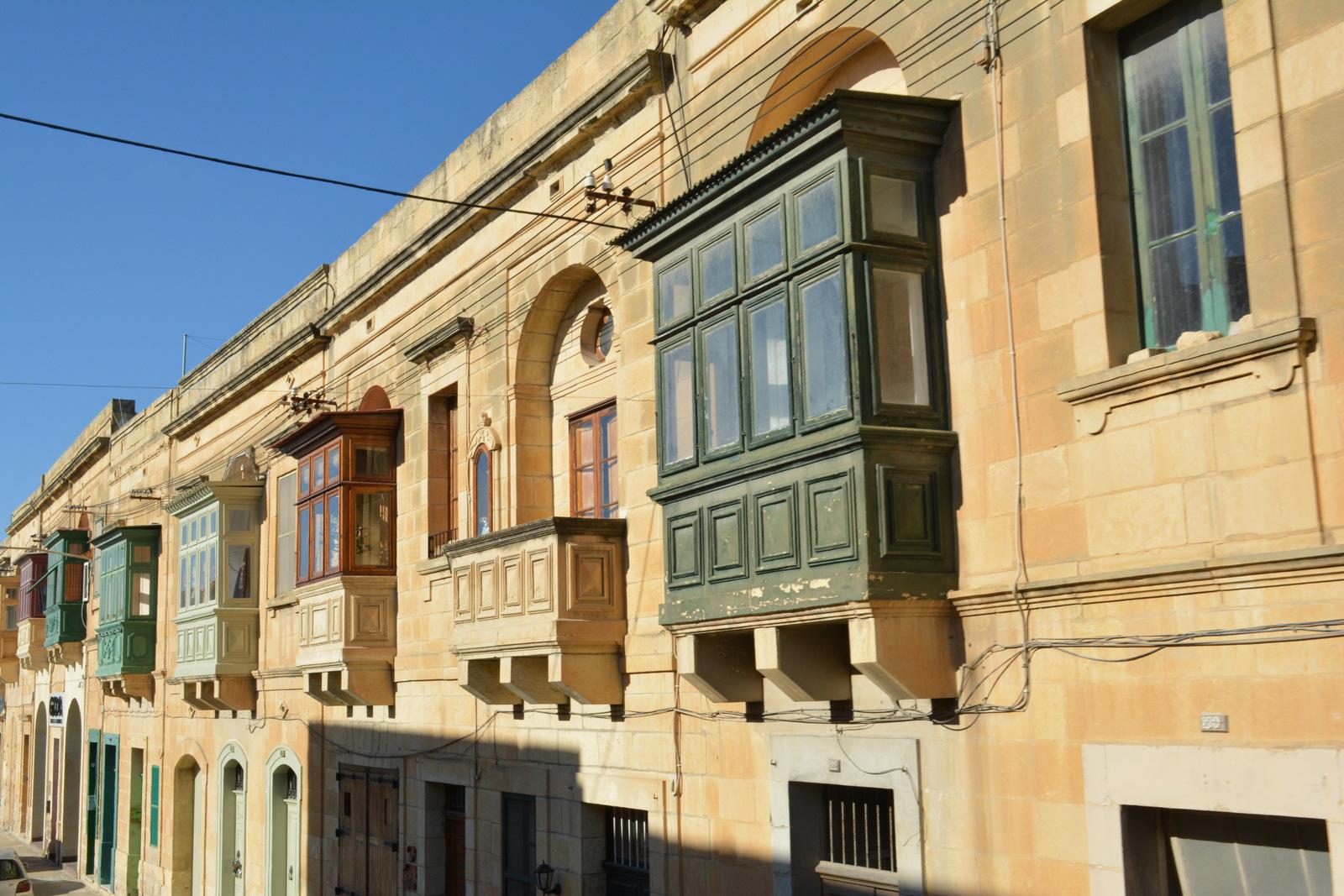 Балконы в Виктории, Гозо, Мальта