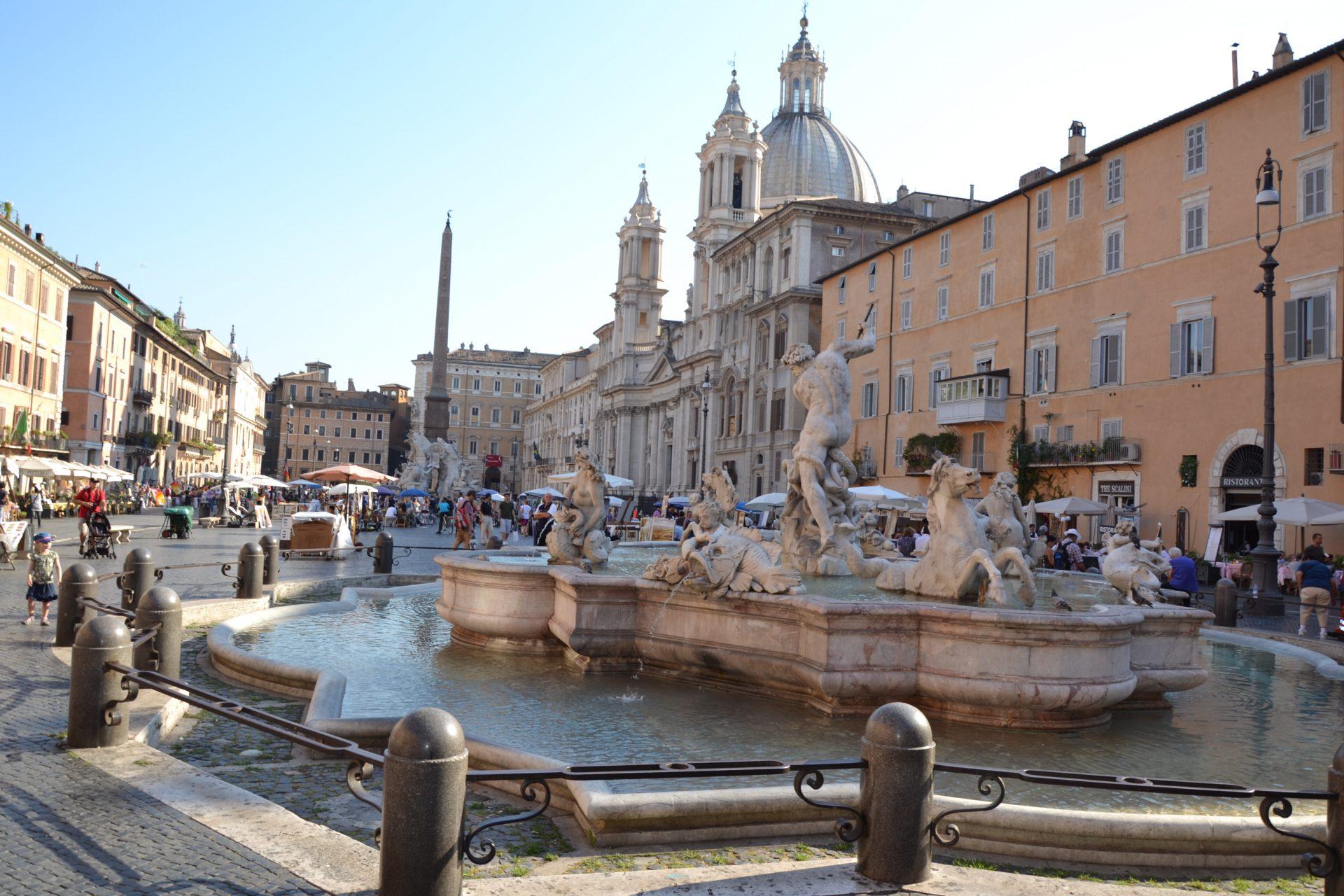 Что посмотреть в Риме. Площадь Навона