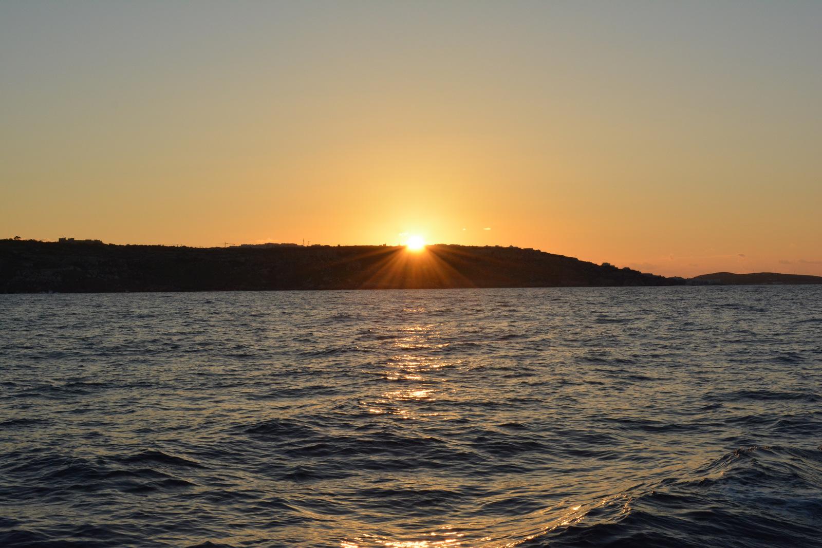 Закат Мальта