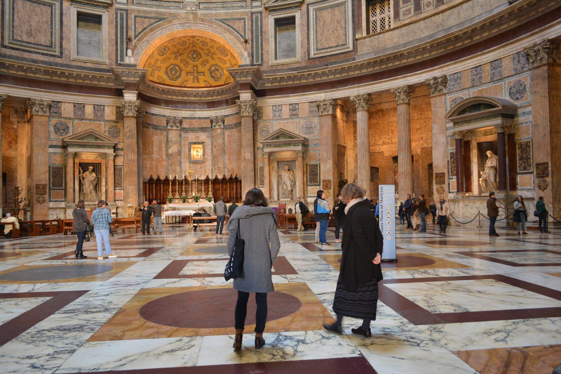 Что посмотреть в Риме. Пантеон