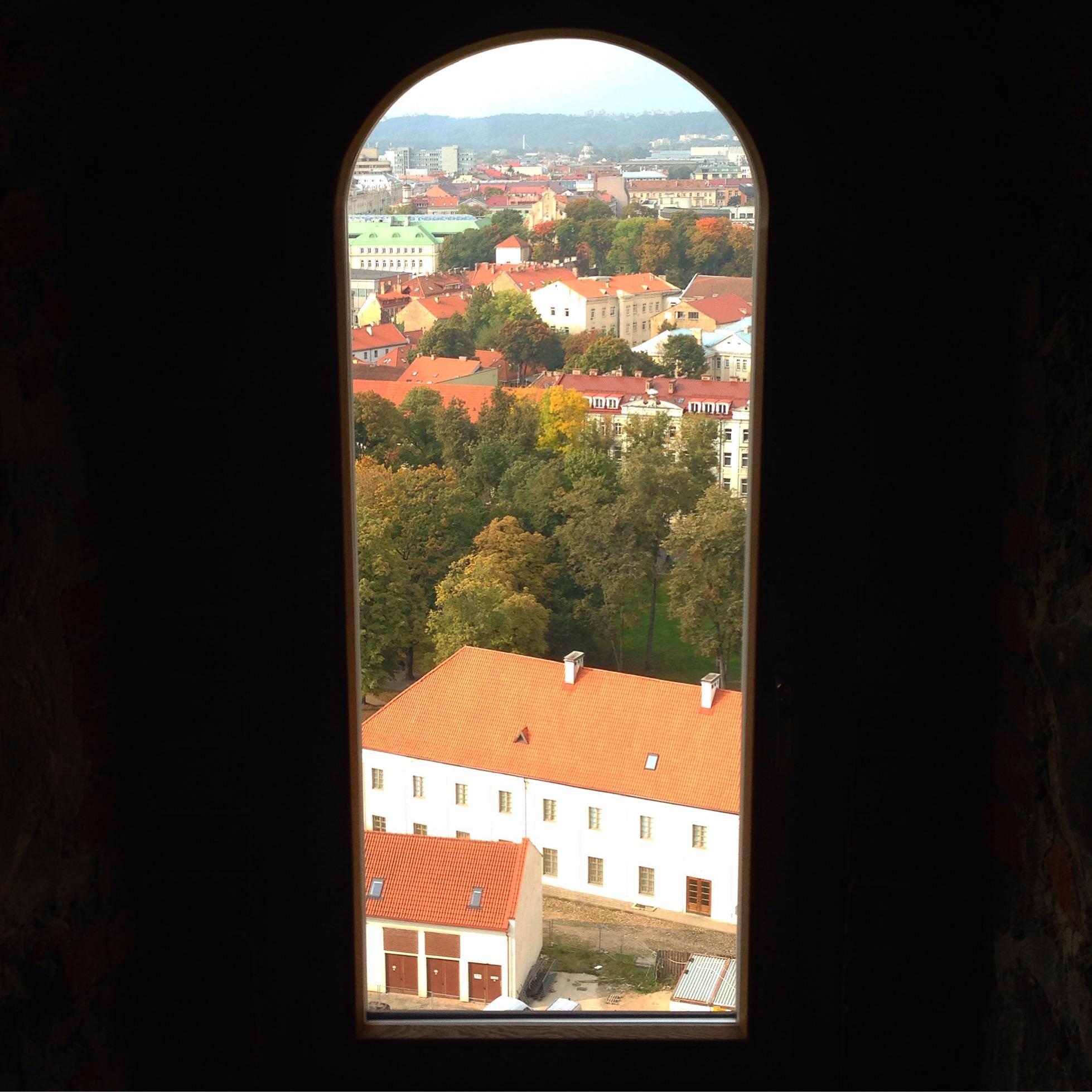 Вид из башни Гедимина