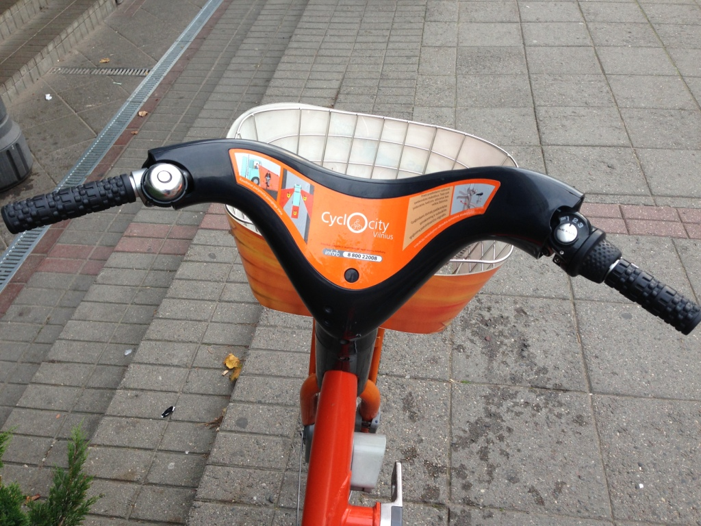 На велосипеде по Вильнюсу