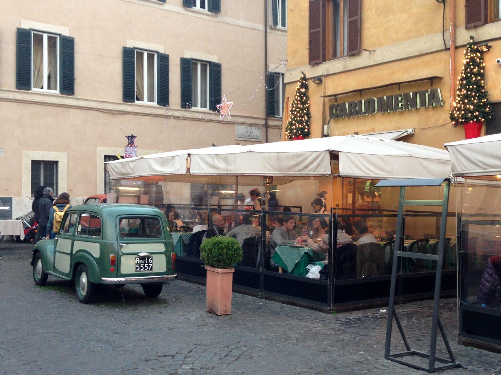 Где покушать в Риме - Carlo Menta