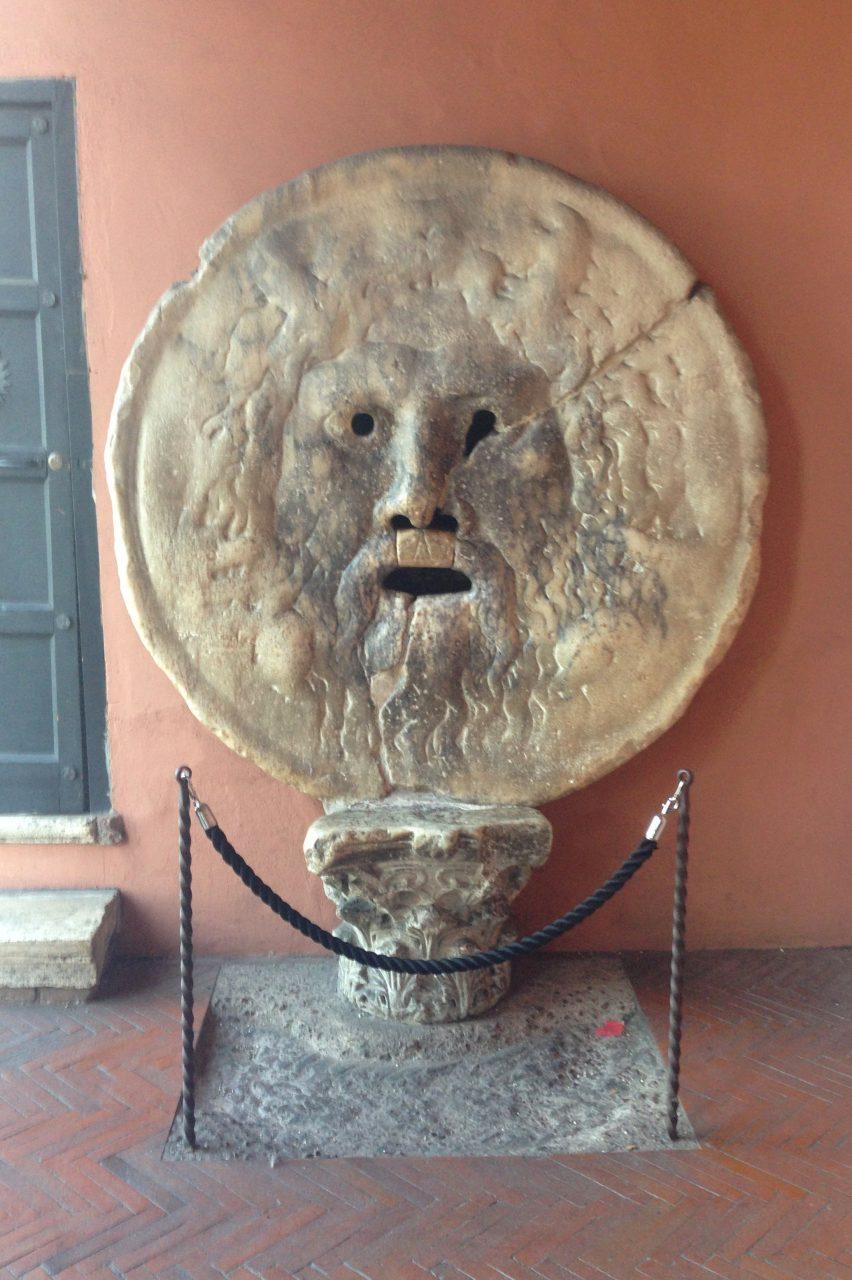 Уста истины, Рим