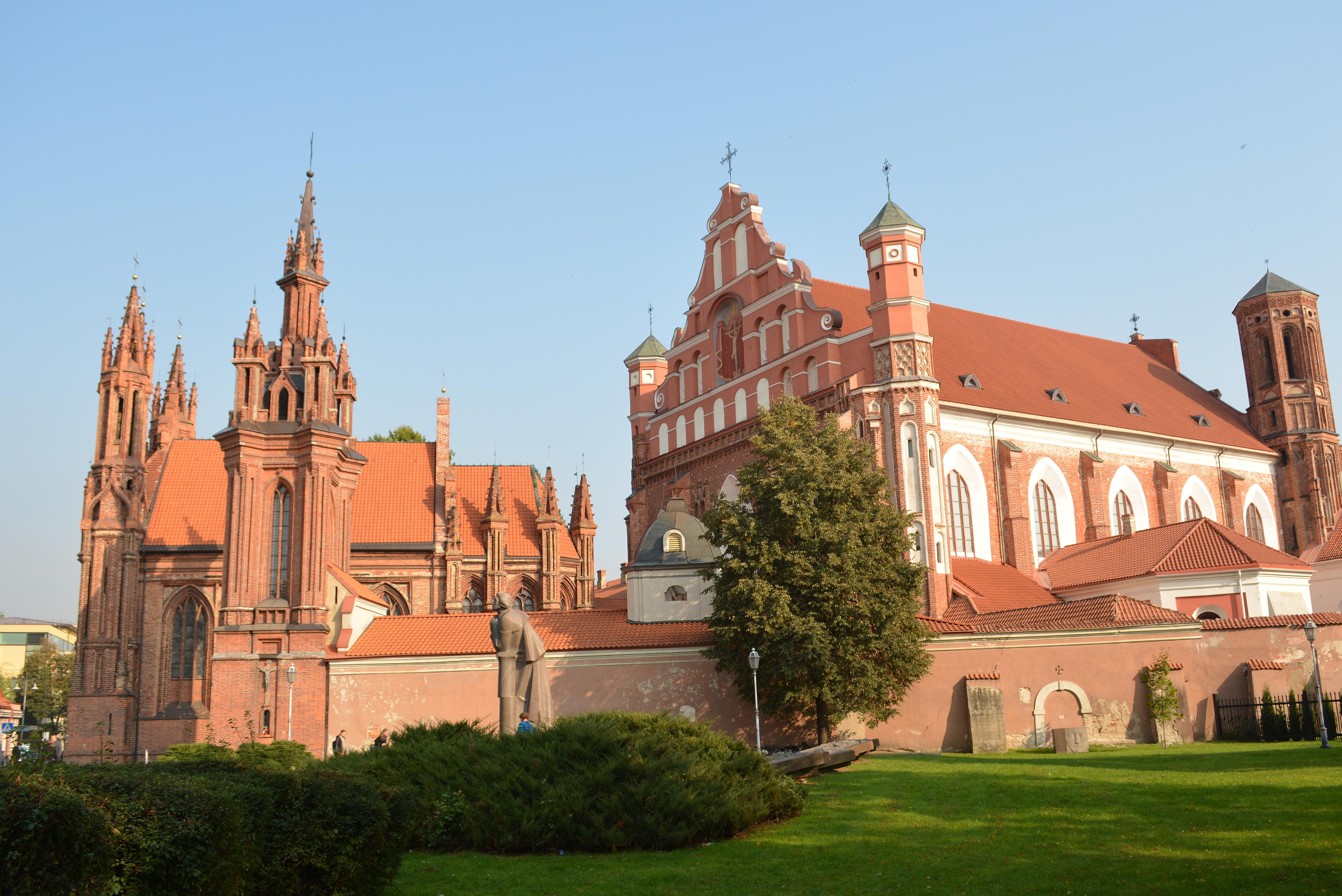 Костел святой Анны в Вильнюсе