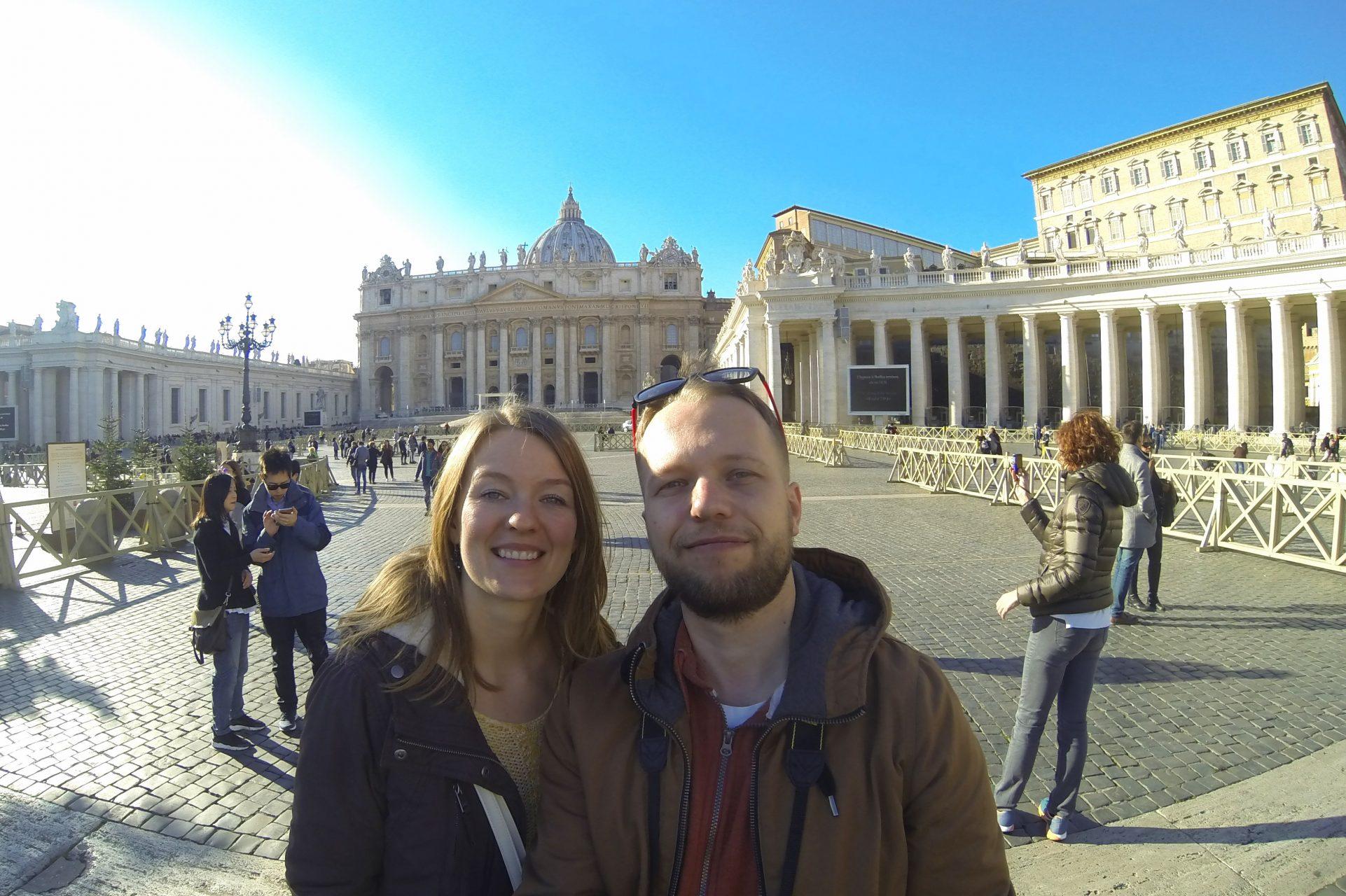 Что посмотреть в Риме. Площадь святого Петра