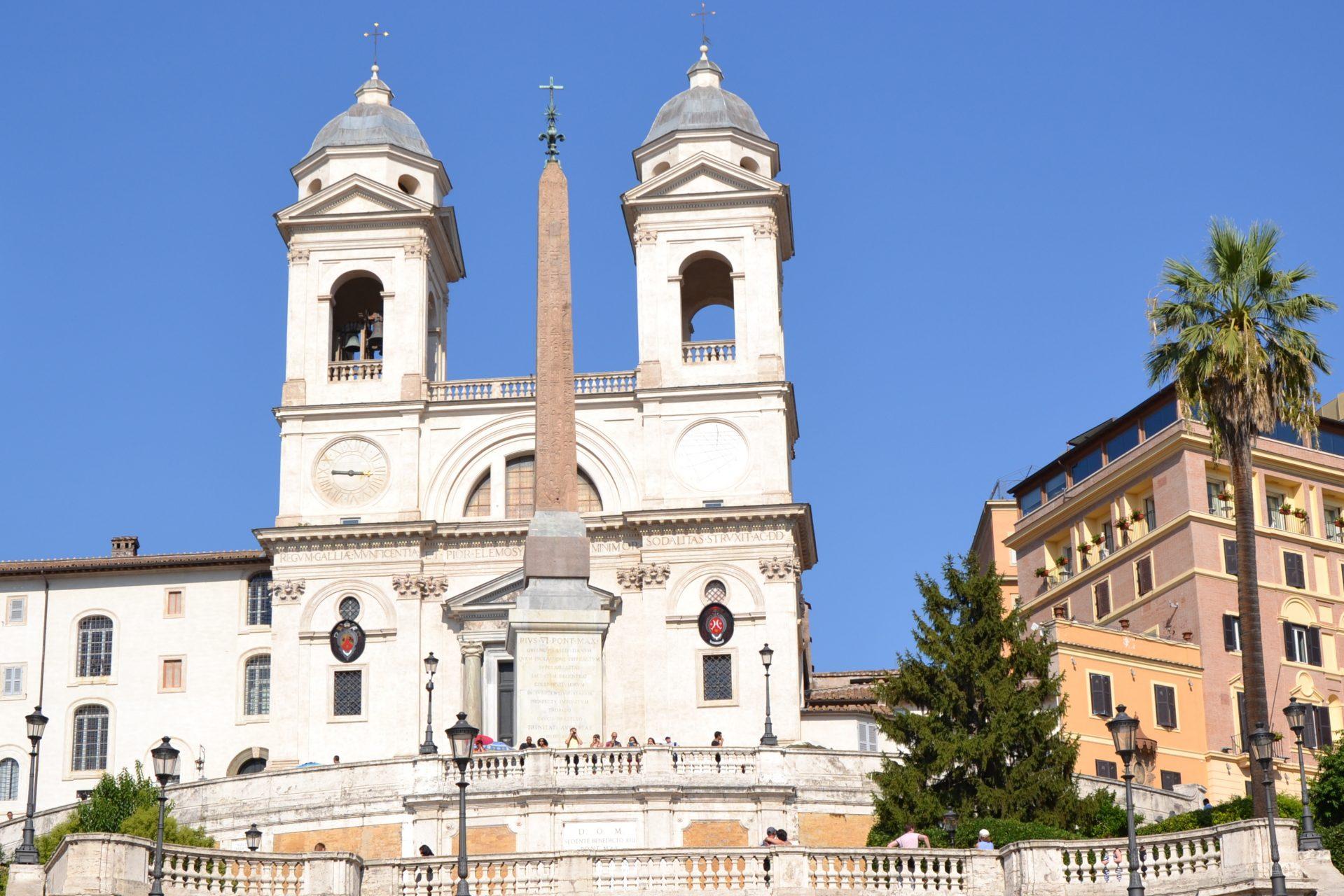 Что посмотреть в Риме. Испанская лестница