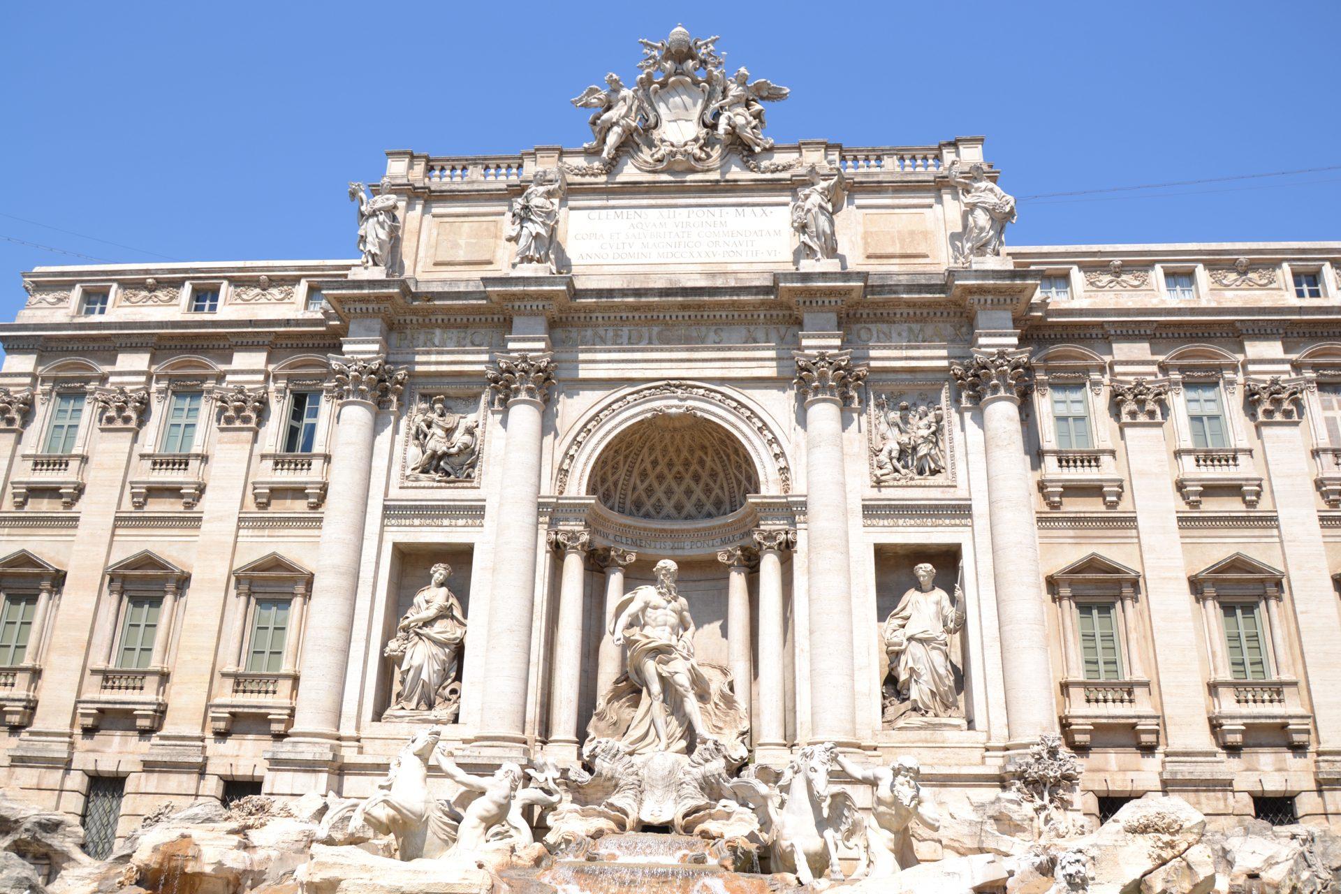 Что посмотреть в Риме. Фонтан Треви