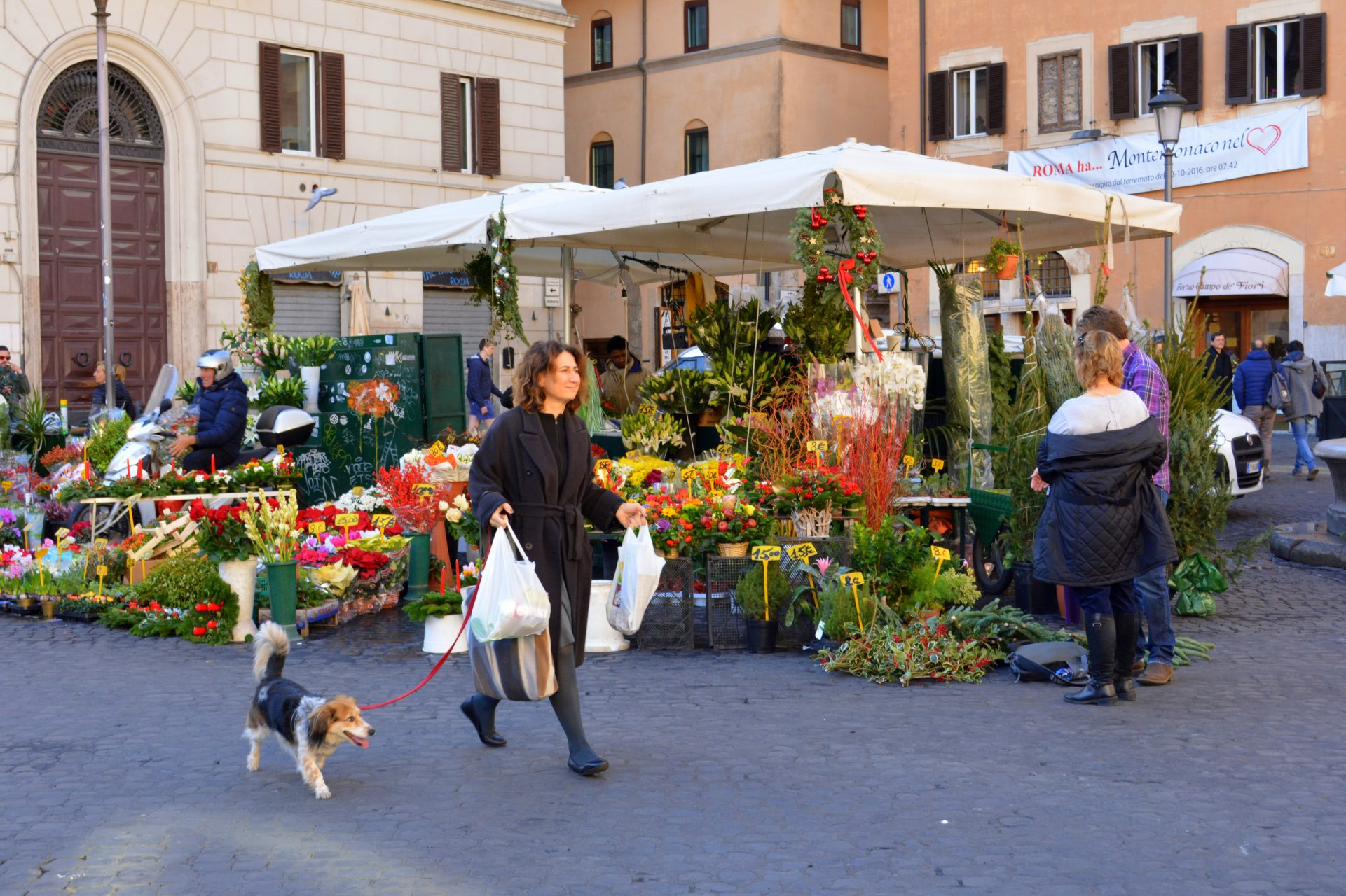 Что посмотреть в Риме. Кампо деи фьори