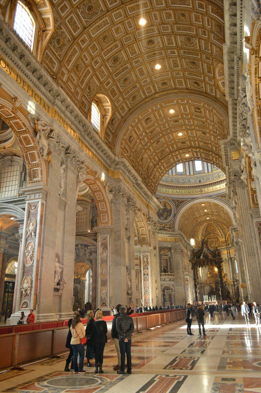 Что посмотреть в Риме. Собор святого Петра
