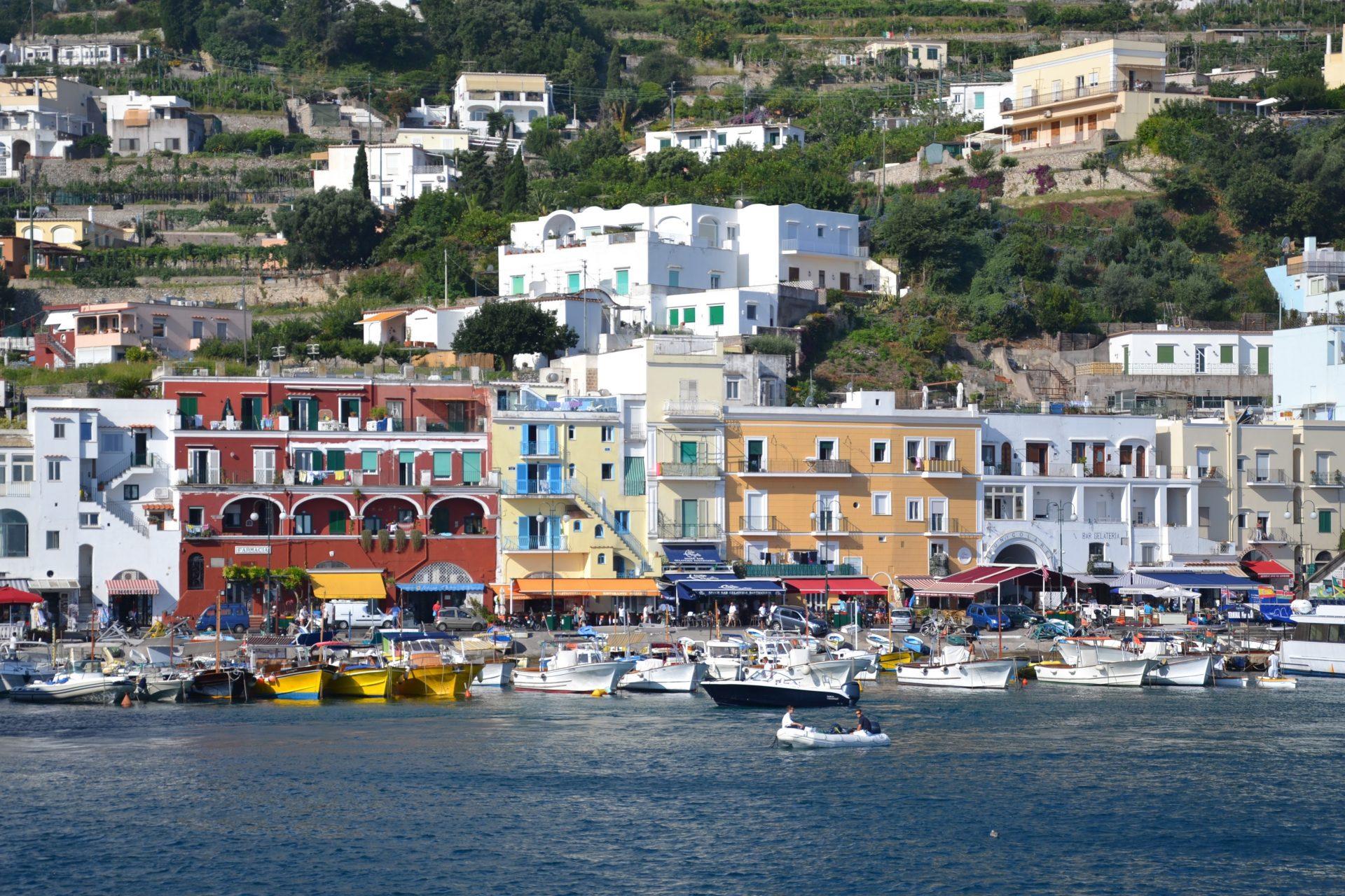 Набережная острова Капри