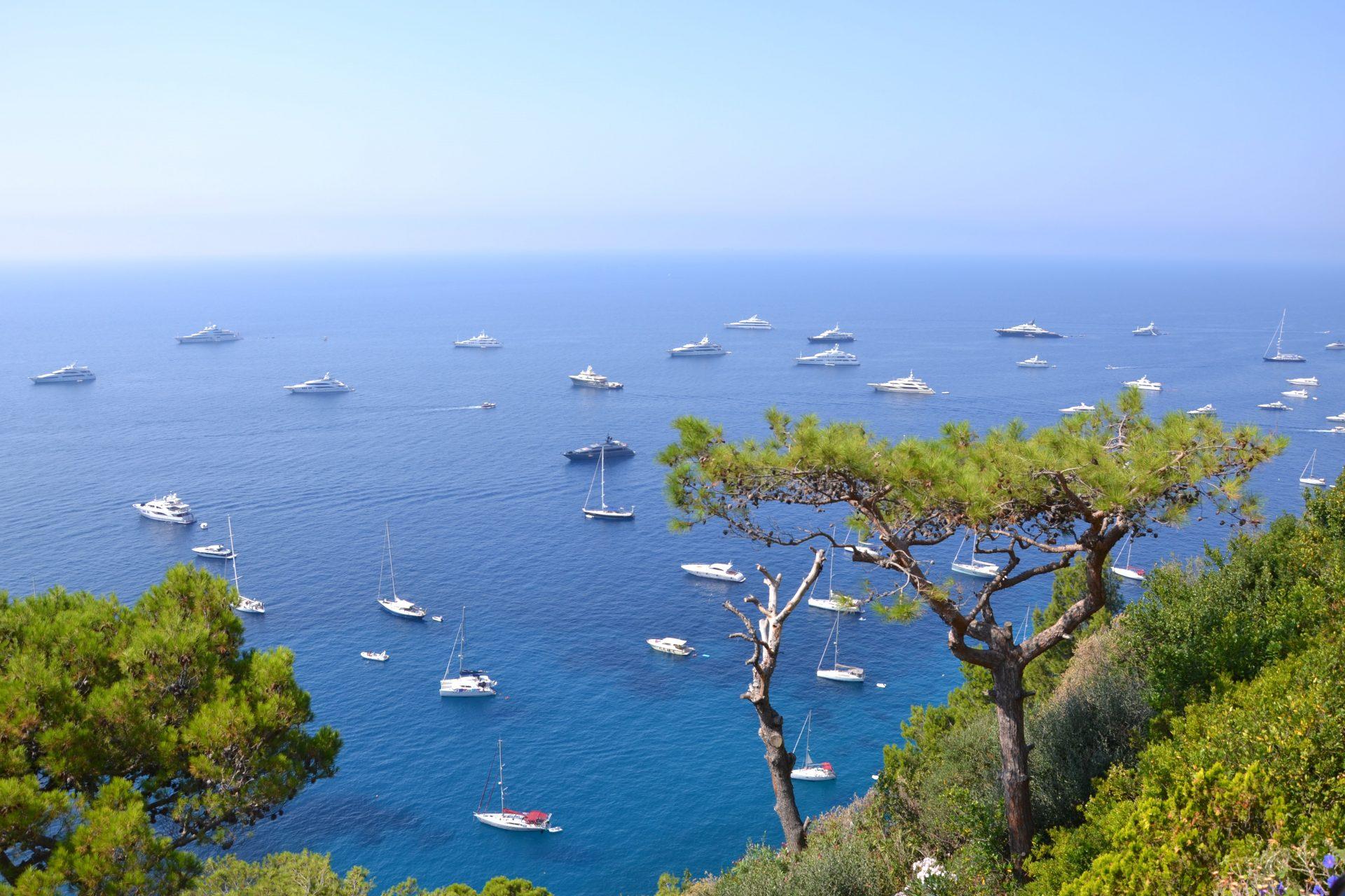 Яхты на Капри