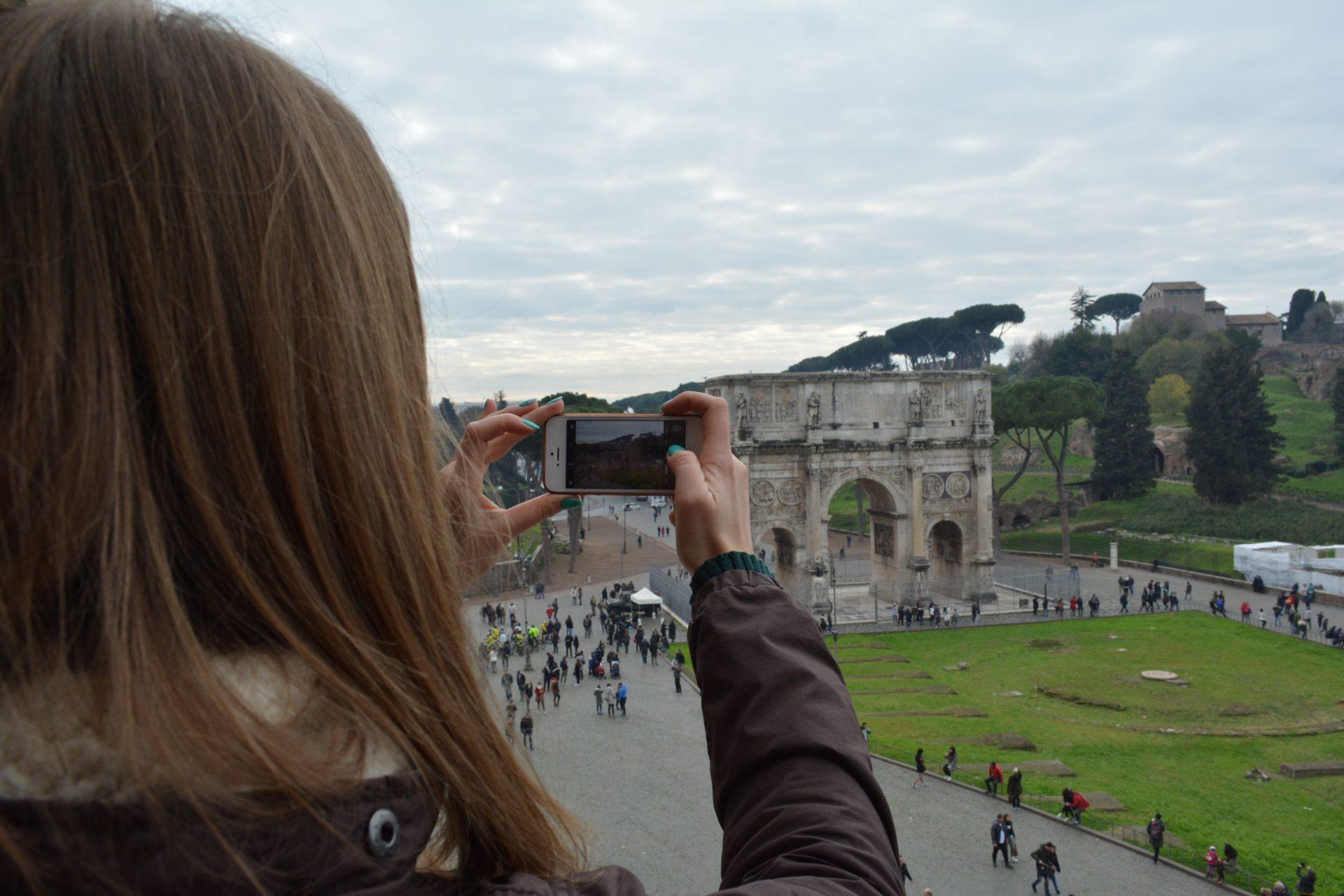 Триумфальная арка Константина, Рим