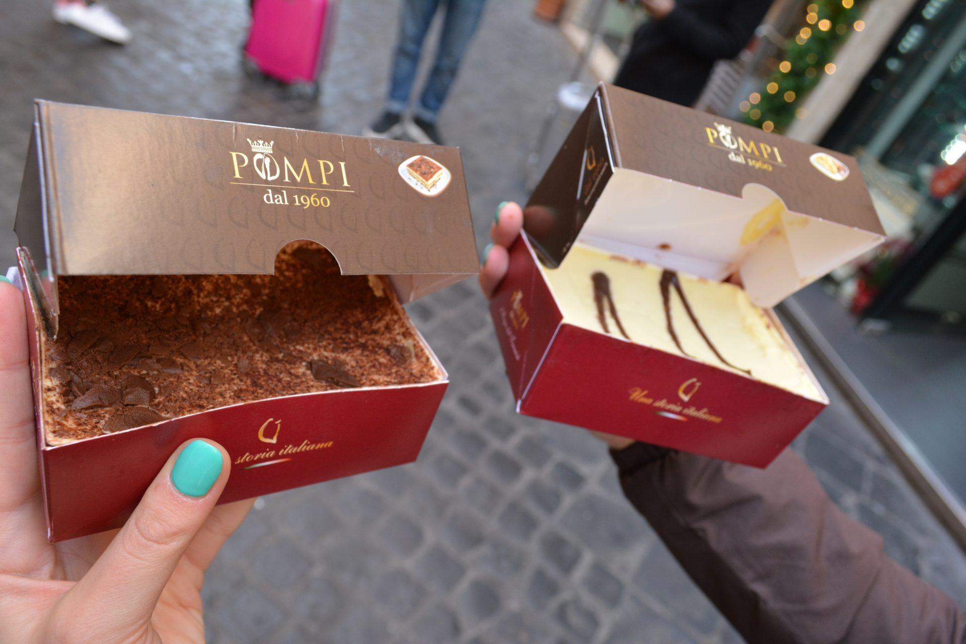 Где покушать в Риме - Pompi