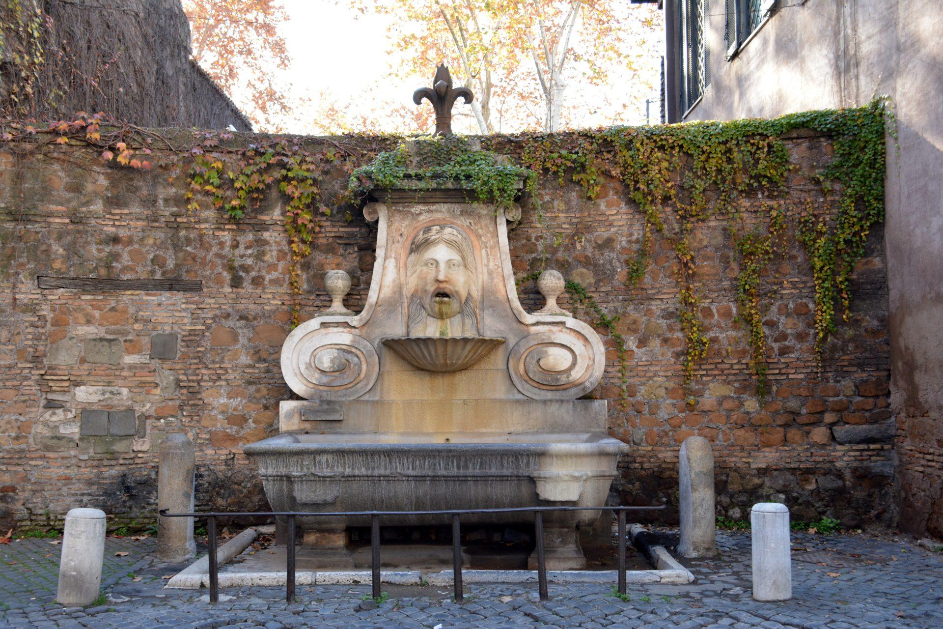 Фонтанчик, Рим