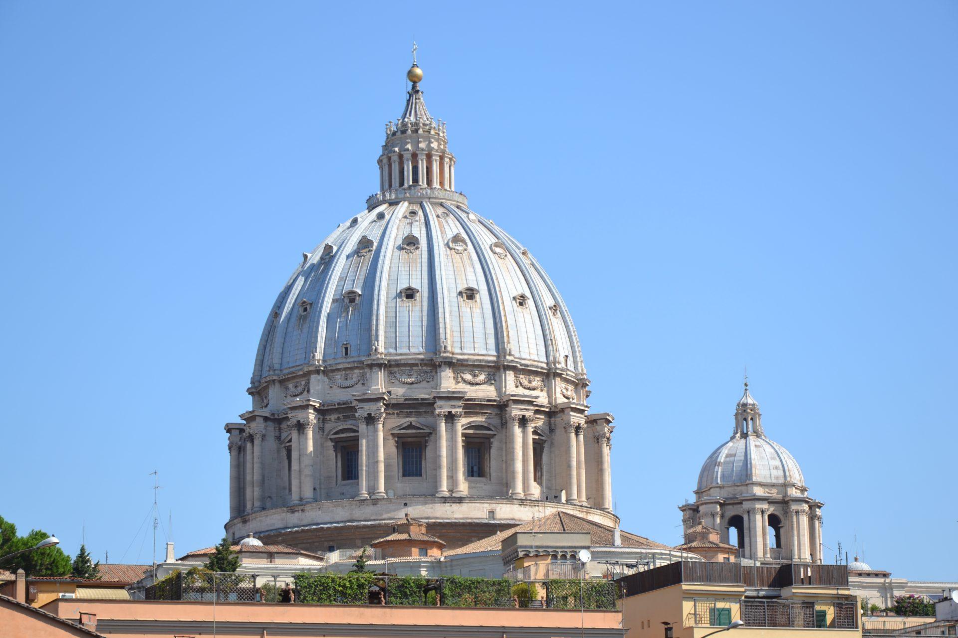 Купол собора Святого Петра, Рим