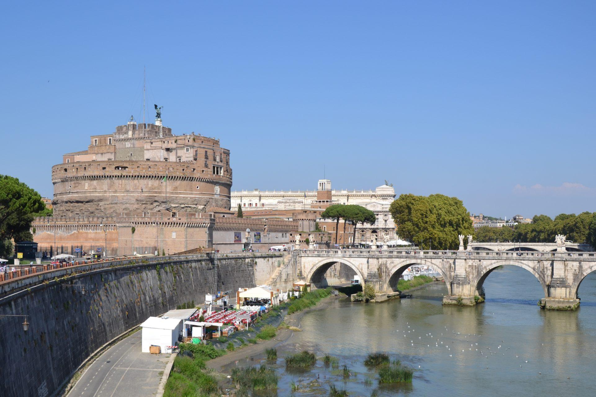 Что посмотреть в Риме. Замок святого Ангела