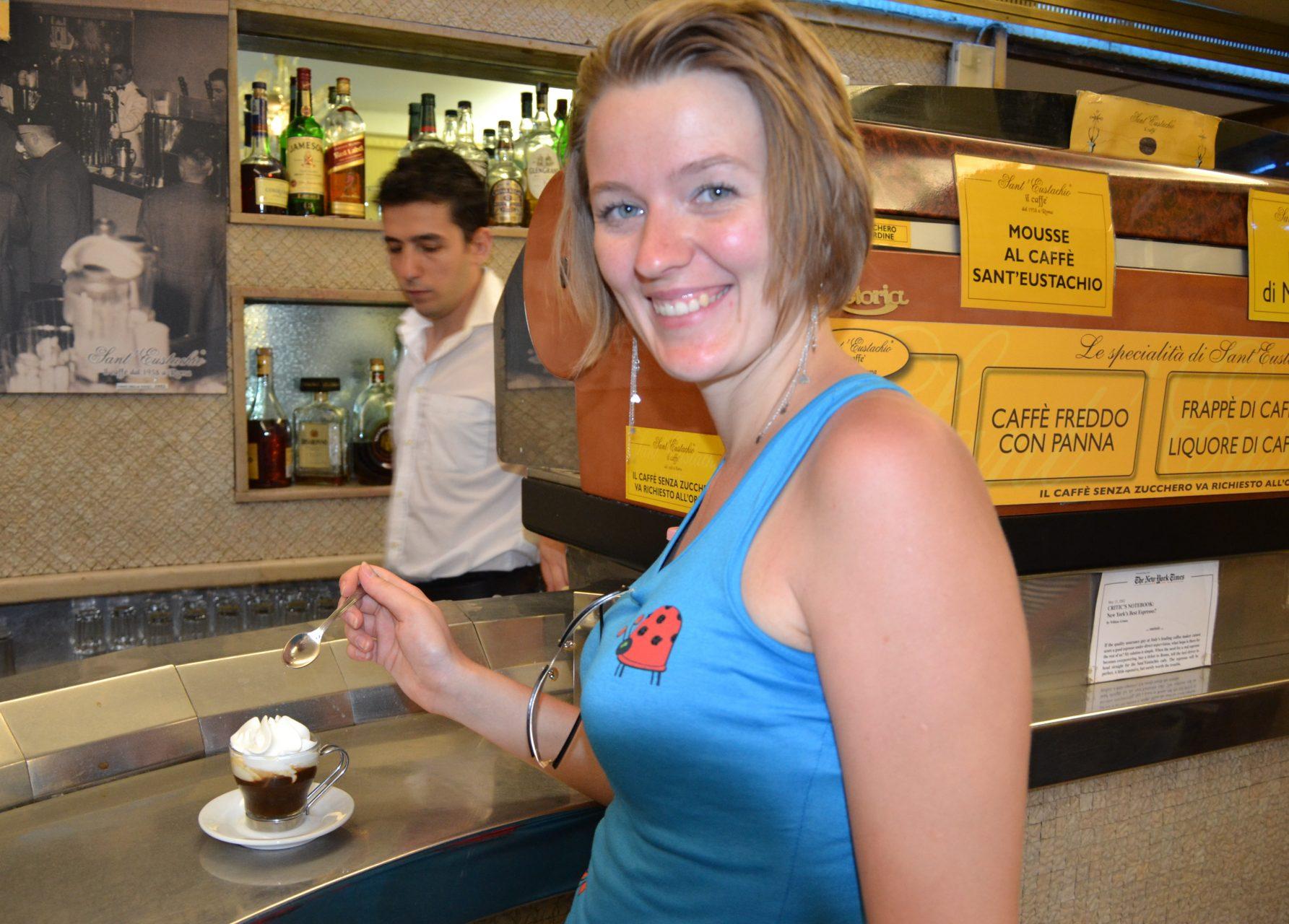 Где выпить кофе в Риме - Sant Eustacchio il Caffe